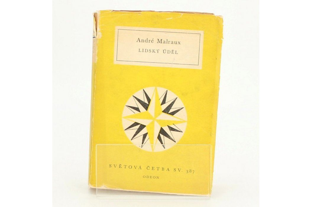 Kniha Lidský úděl André Malraux Knihy