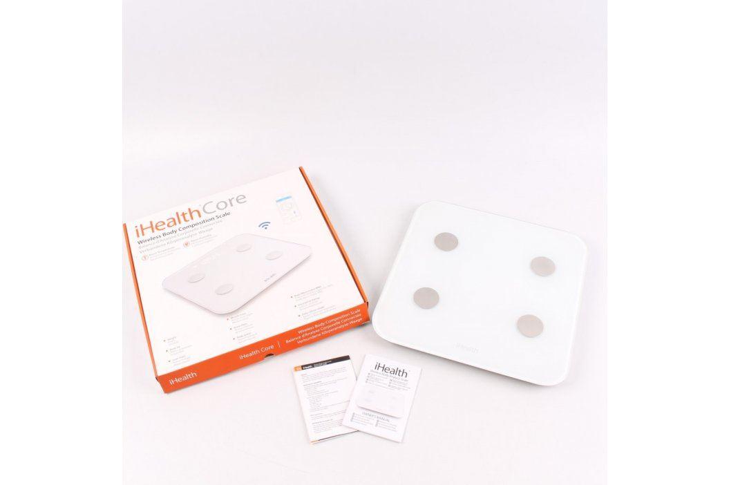 Elektronická váha iHealth Core bílá Osobní váhy