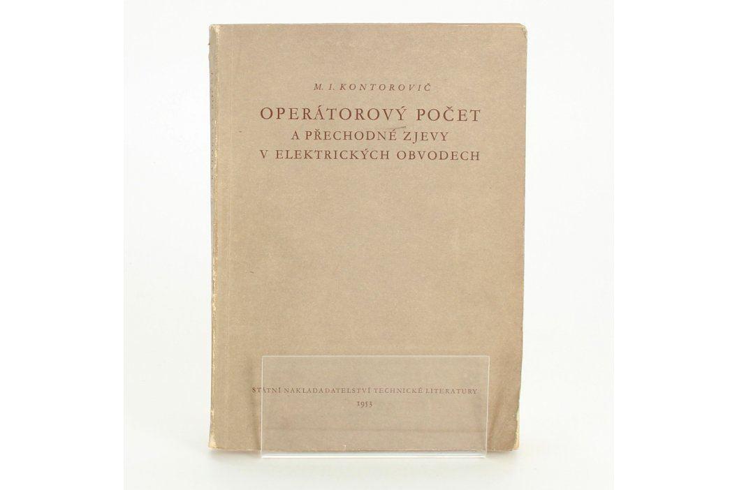 Naučná kniha Operátorový počet Knihy