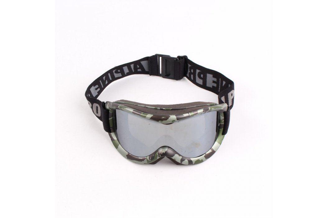 Lyžařské brýle Alpine Pro šedé maskáčové Lyžařské brýle
