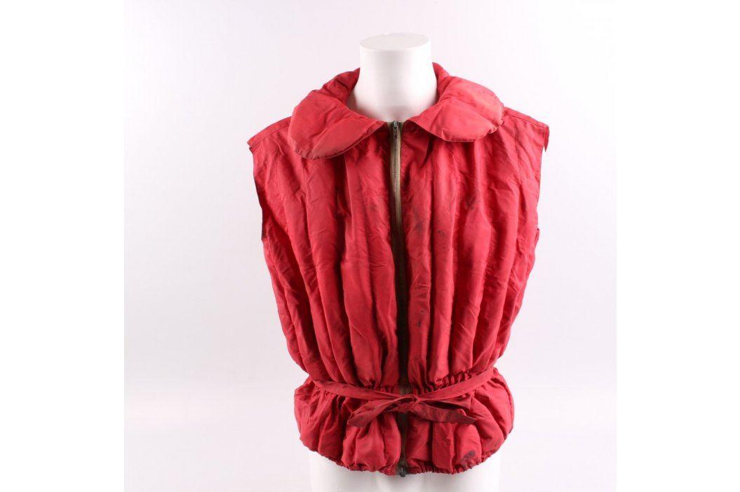 Plovací vesta s páskem červená Záchranné vesty