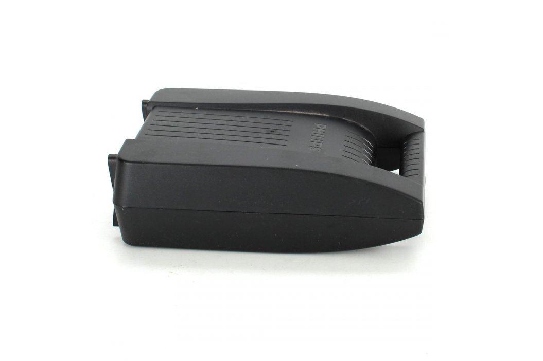 Plastový úložný box Philips černý Úložné boxy