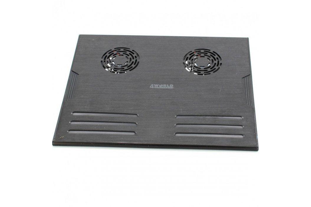 Chladící podložka notebooku 4World Podložky a stojany k notebookům