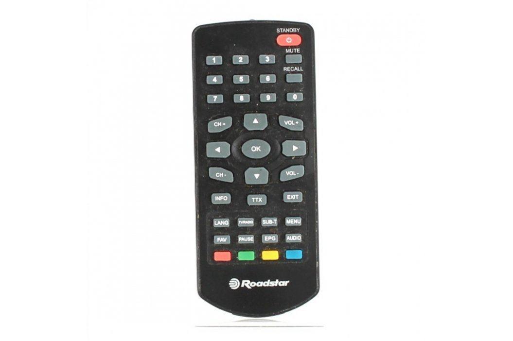 Dálkový ovladač Roadstar DVB-2100TA černý Dálkové ovladače