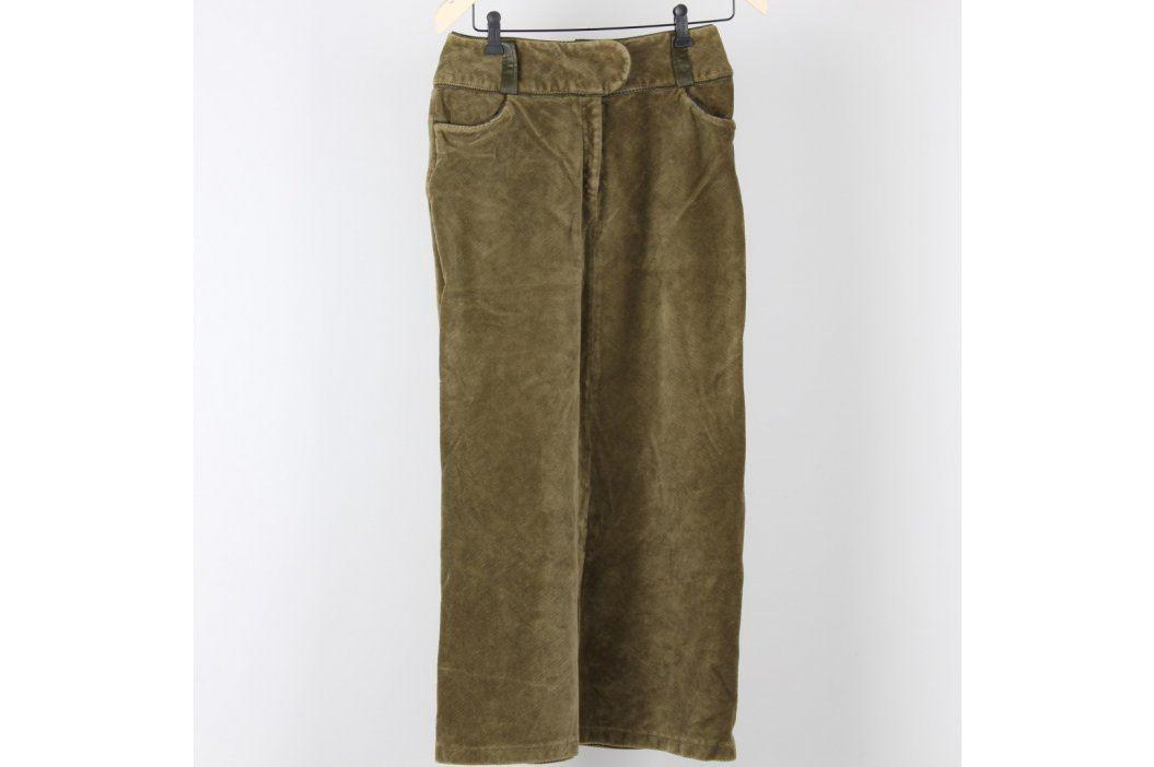 Dámská dlouhá sukně odstín zelené Dámské sukně