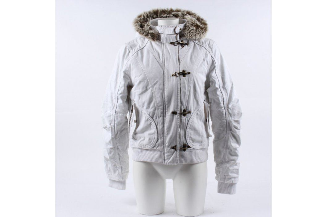 Dámská bunda s kapucí odstín šedé  Dámské bundy a kabáty