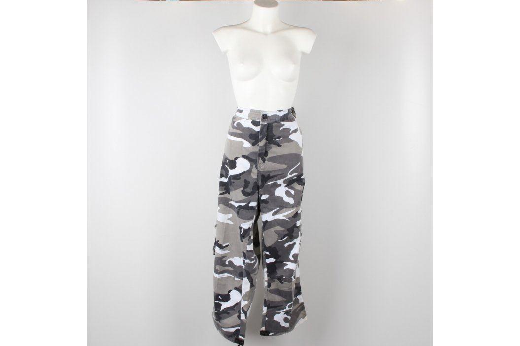 Pánské kalhoty maskáčocé bílo šedé Pánské kalhoty