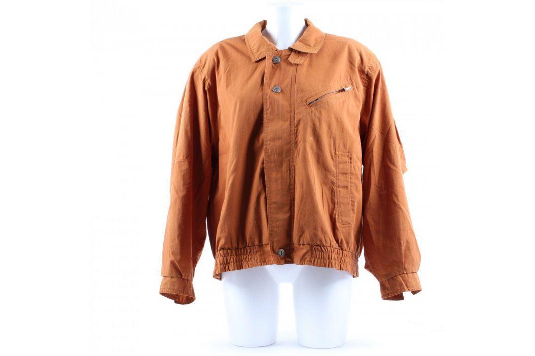 Pánská jarní bunda odstín hnědé Pánské bundy a kabáty