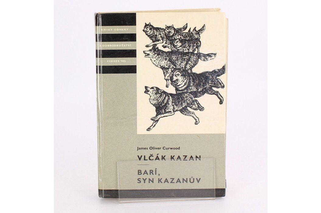 Dětská knížka Vlčák Kazan J.O.Curwood Knihy