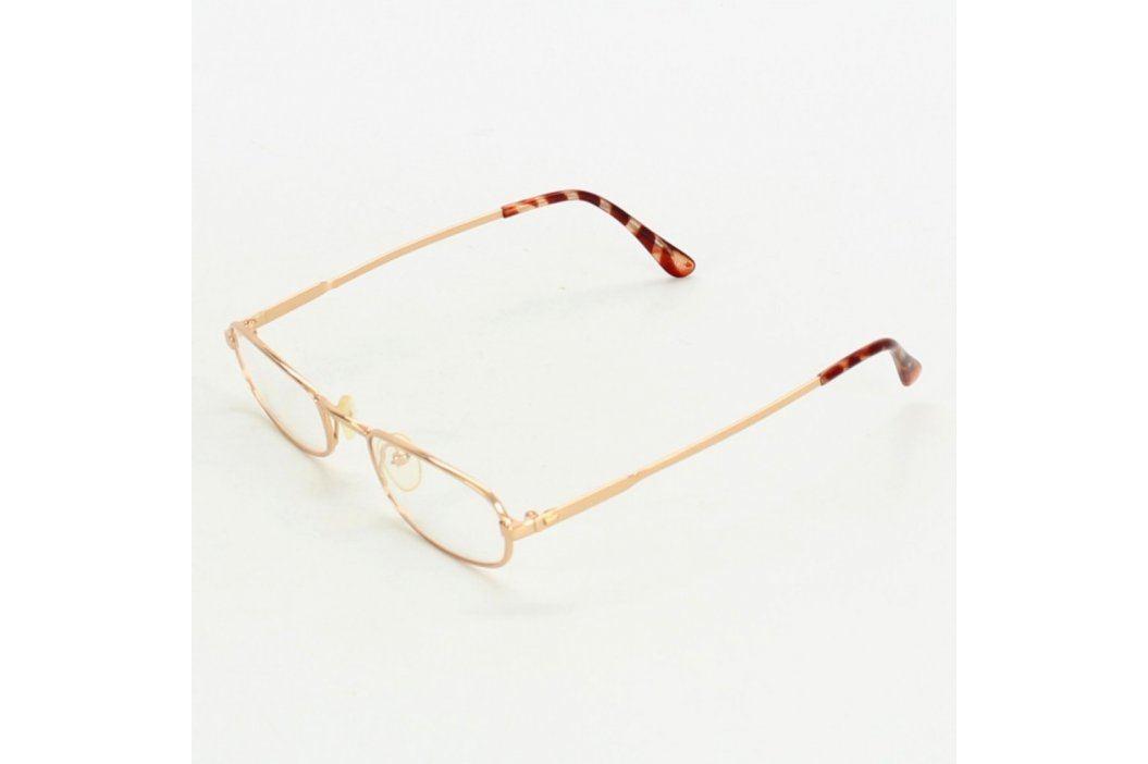 Dioptrické brýle zlatorůžové Brýle a obroučky