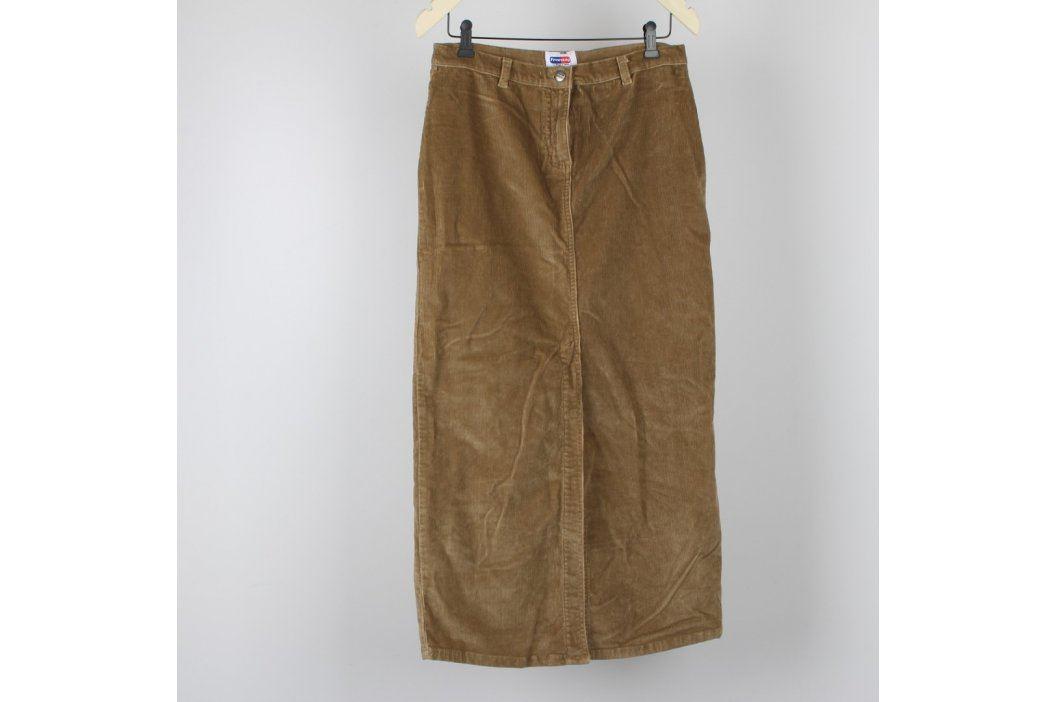 Dámská dlouhá sukně Freeway béžová Dámské sukně