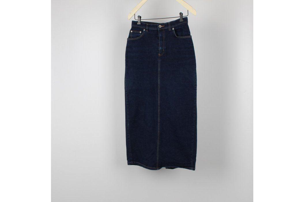 Dámská dlouhá sukně Marks & Spencer džínová Dámské sukně
