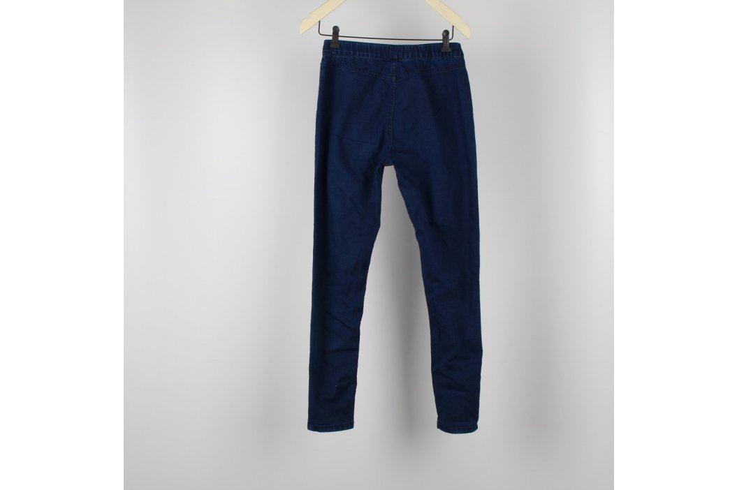 Dámské džegíny tmavě modré Dámské kalhoty