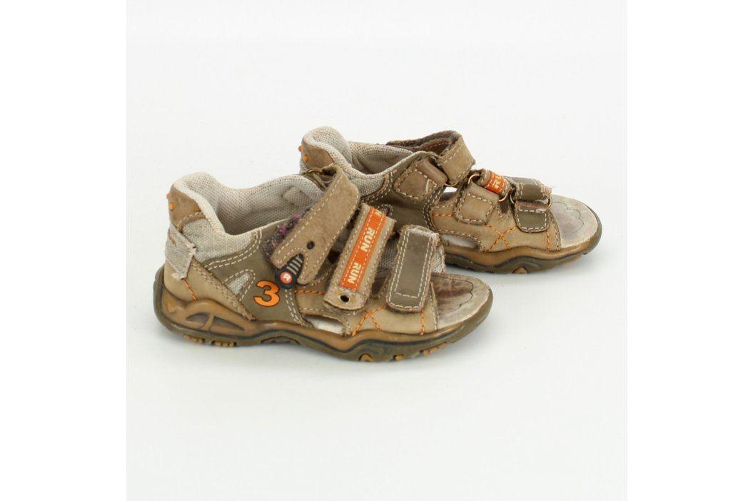 Dětské sandále Basic Wear béžové Dětská obuv