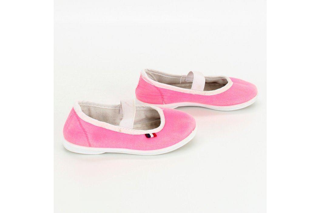 Dětské cvičky Gamo růžové Dětská obuv