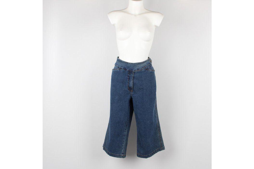 Dámské 3/4 džíny odstín modré Dámské kalhoty