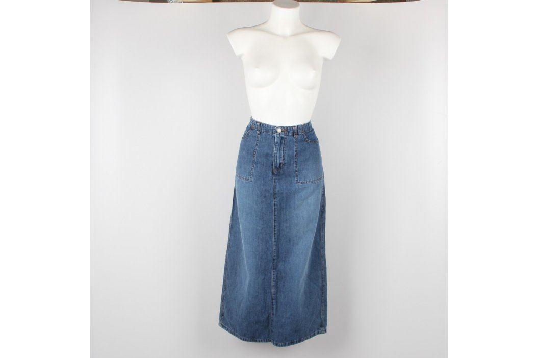 Dámská sukně Biaggini odstín modré Dámské sukně