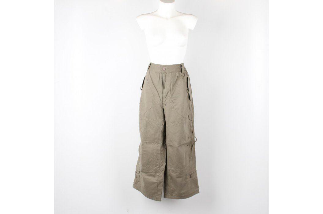 Pánské kalhoty Michino odstín hnědé Pánské kalhoty
