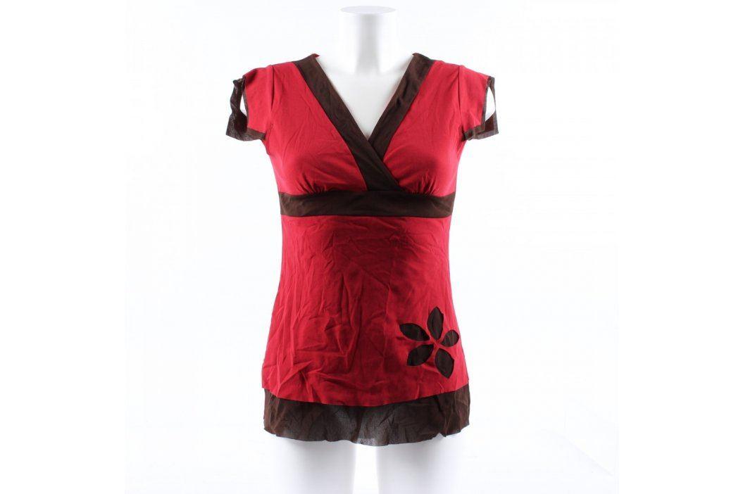 Dámský top Promod červeno černý Dámská trička a topy