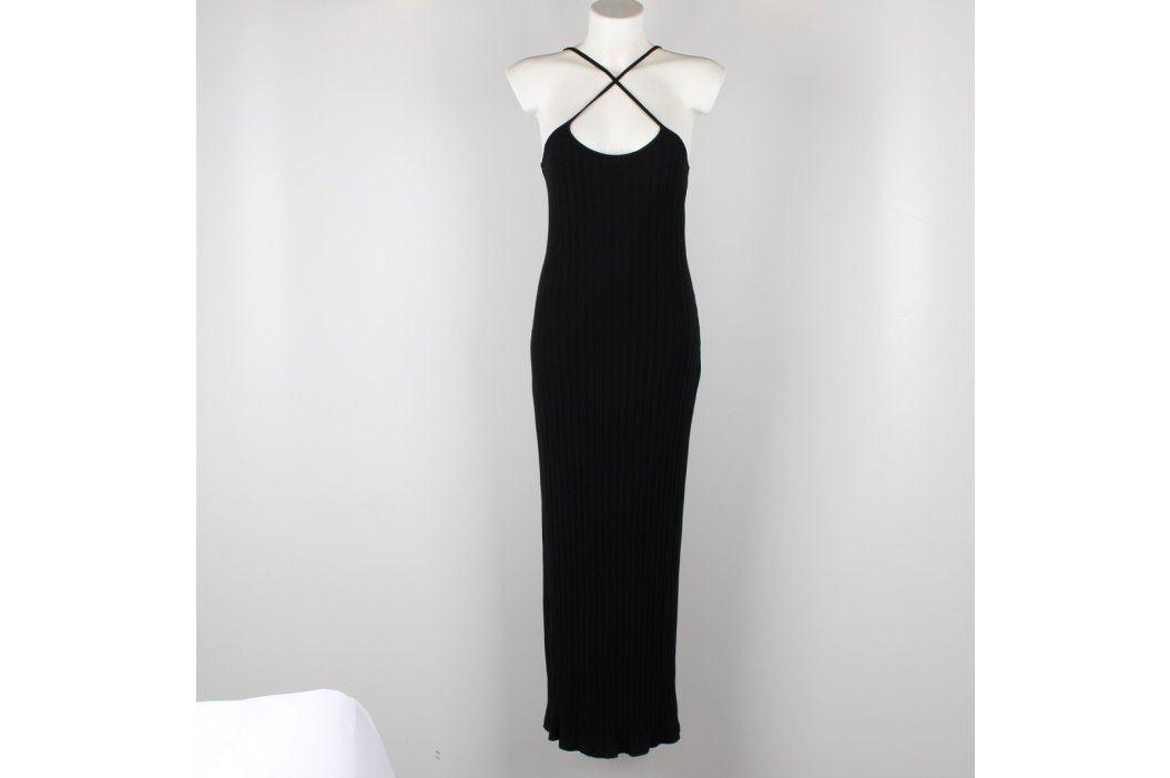 Společenské dlouhé šaty černé  Dámské šaty