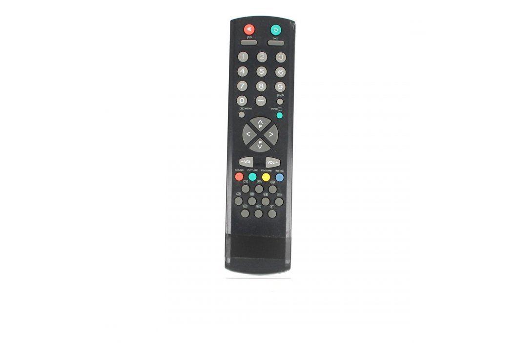 Dálkový ovladač k TV 21 x 5,5 cm černý Dálkové ovladače