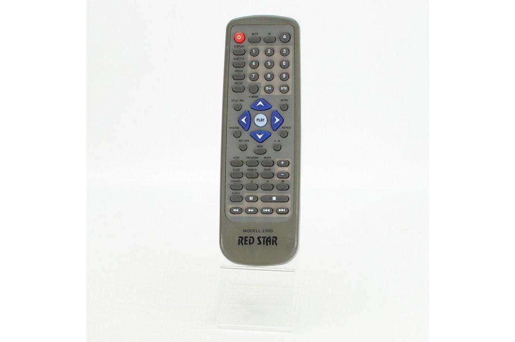 Dálkový ovladač Red Star 230G šedý Dálkové ovladače