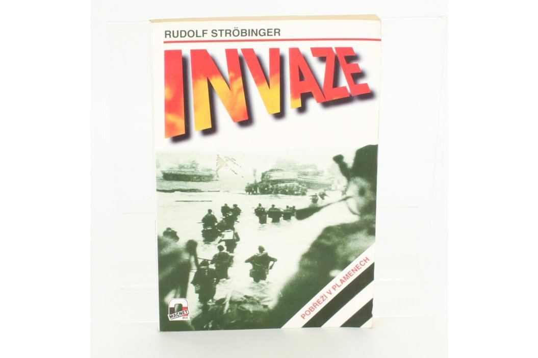 Válečná literatura Invaze Rudolf Strobinger Knihy