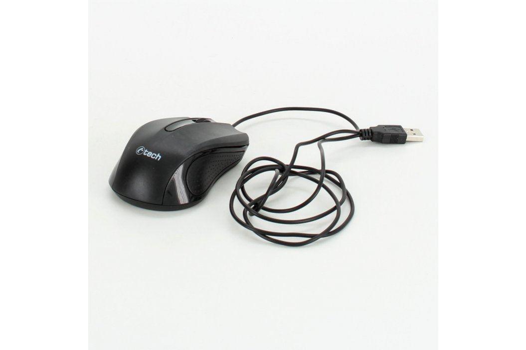 Optická myš C-Tech WLM‑01 černá Myši