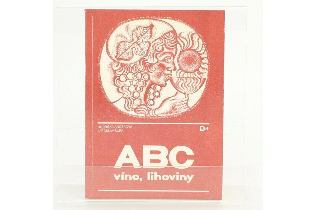Kniha o výrobě lihovin ABC víno, lihoviny Knihy