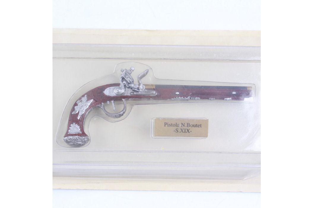 Model pistole s křesadlovým zámkem N. Boutet Ostatní sběratelství