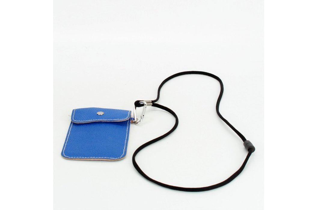 Pouzdro na fotoaparát nebo telefon modré Brašny a pouzdra pro fotoaparáty