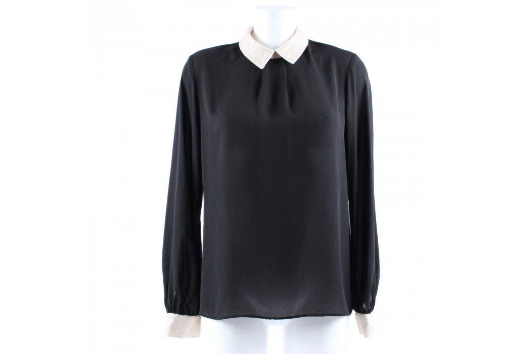 Dámská halenka černá s bílým límečkem Dámské halenky a košile