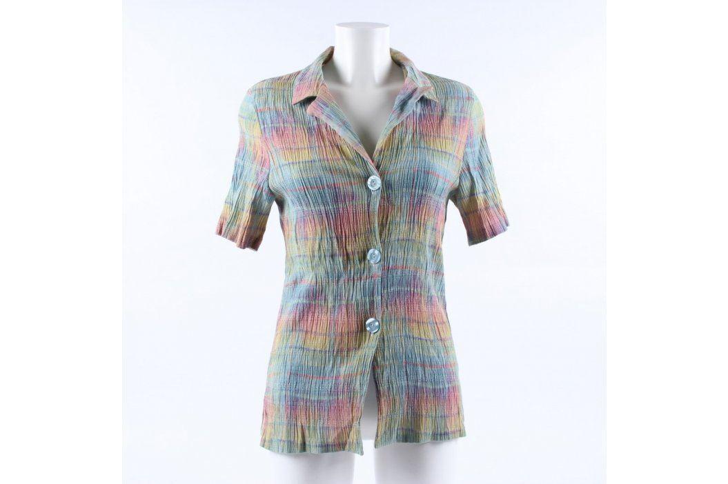 Dámská delší košile pestrobarevná Dámské halenky a košile