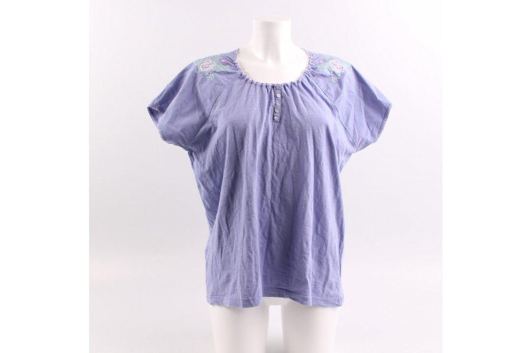 Dámská tunika Ide fialová Dámská trička a topy