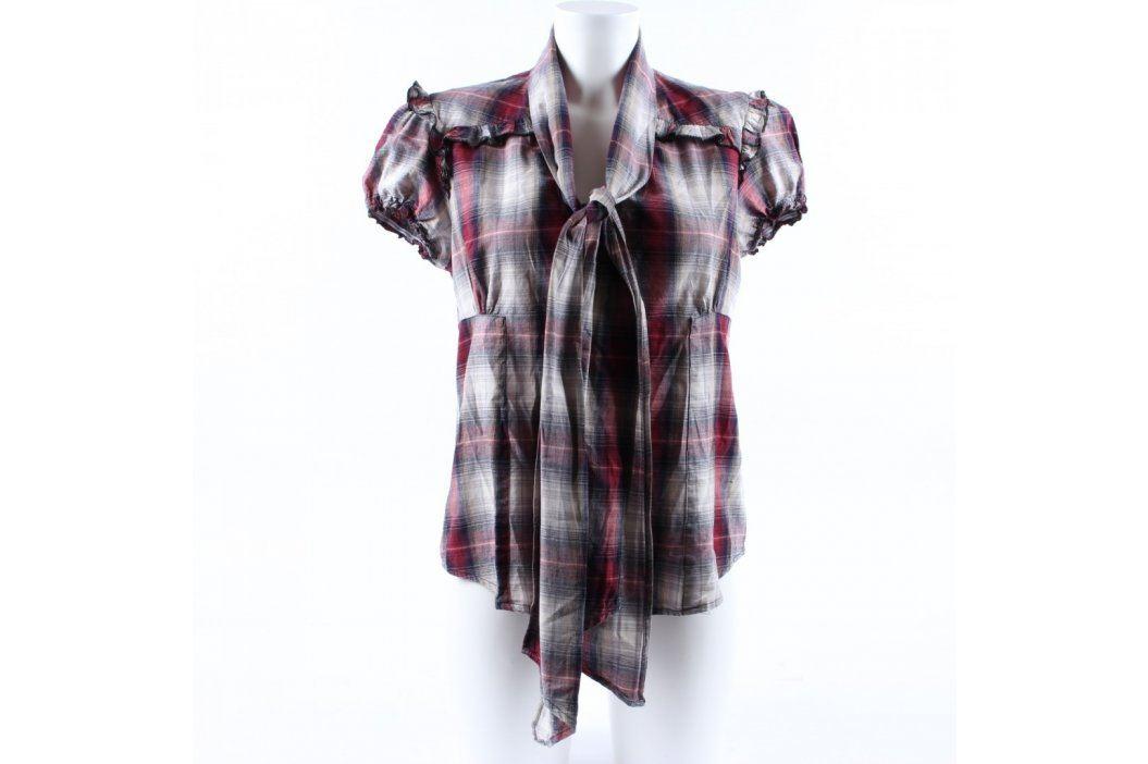 Dámská košile Tokiyo červenočernobílá Dámské halenky a košile