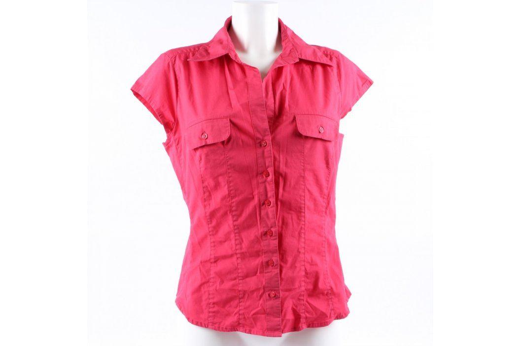 Dámská krátká košile H&M červená Dámské halenky a košile