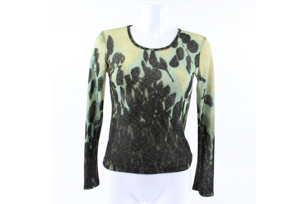 Dámský svetr se siluetami listí Dámské svetry a roláky