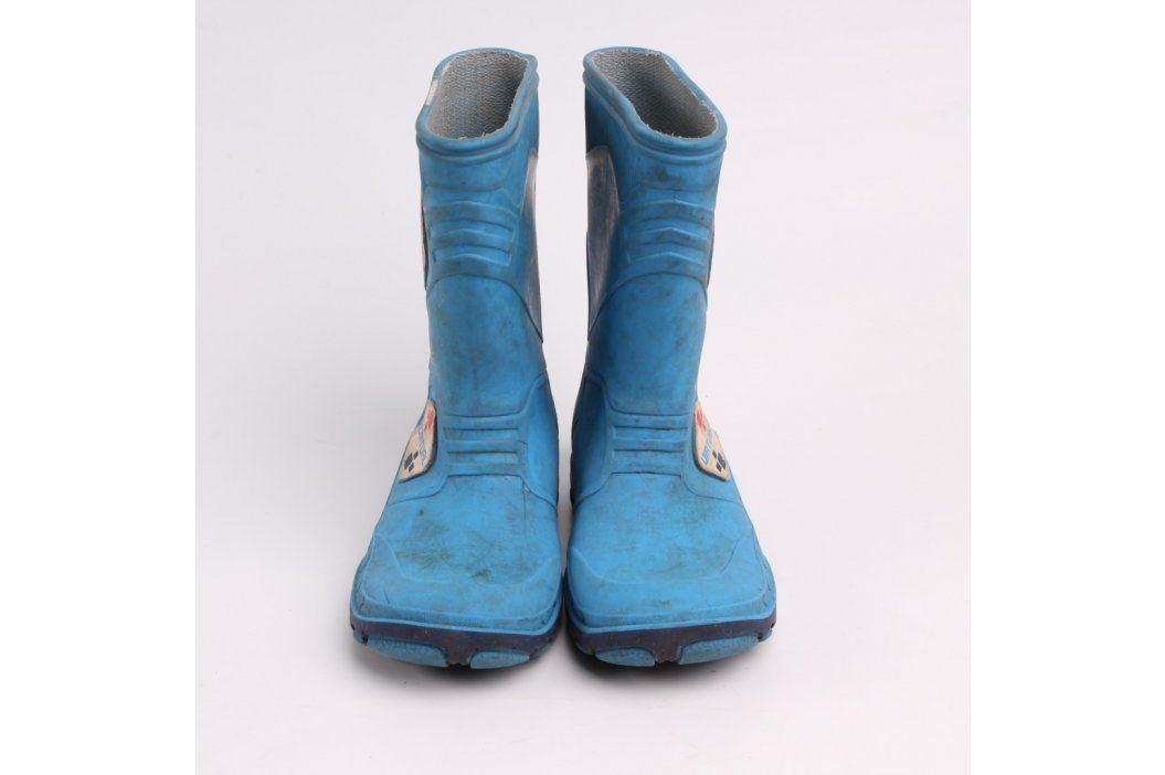 Dětské holínky Digital Virtual modré Dětská obuv