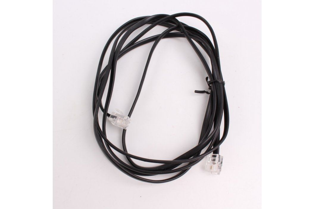 Telefonní dvojlinka RJ12 2 vodiče 150 cm Síťové kabely