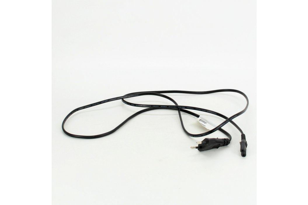 Napájecí kabel Volex C7 černý délka 170 cm Napájecí kabely