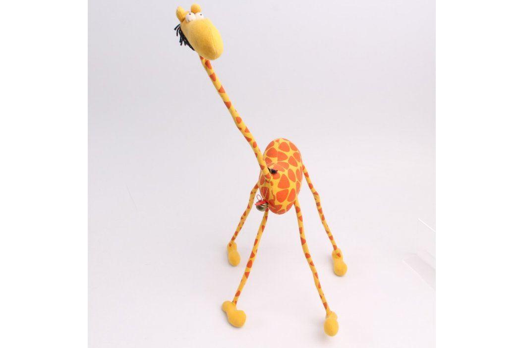 Plyšová hračka žirafa s dlouhým krkem Plyšáci