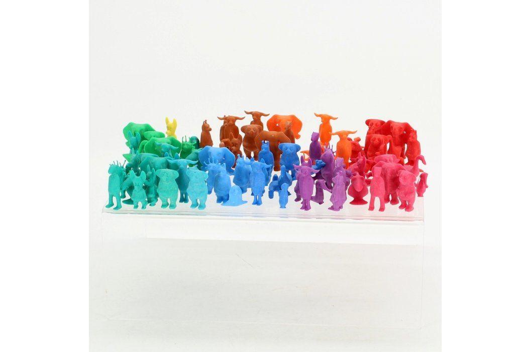 Plastové figurky barevných zvířátek  Postavičky, figurky a loutky