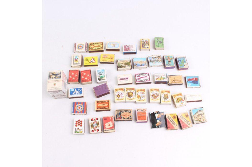 Sbírka krabiček od sirek více kusů Ostatní sběratelství