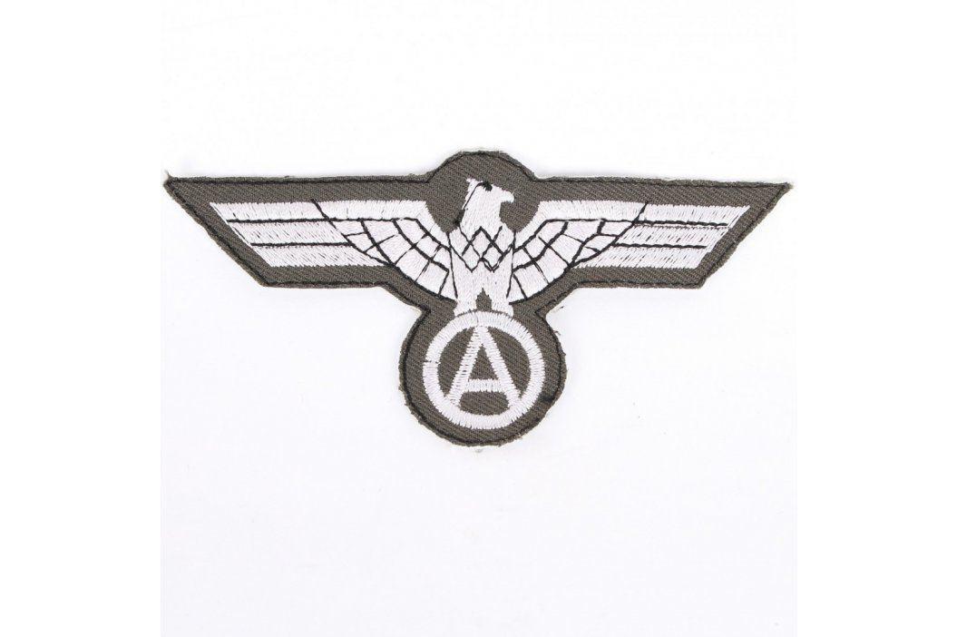 Nášivka na uniformu Bundeswehr stříbrná Vojenské předměty