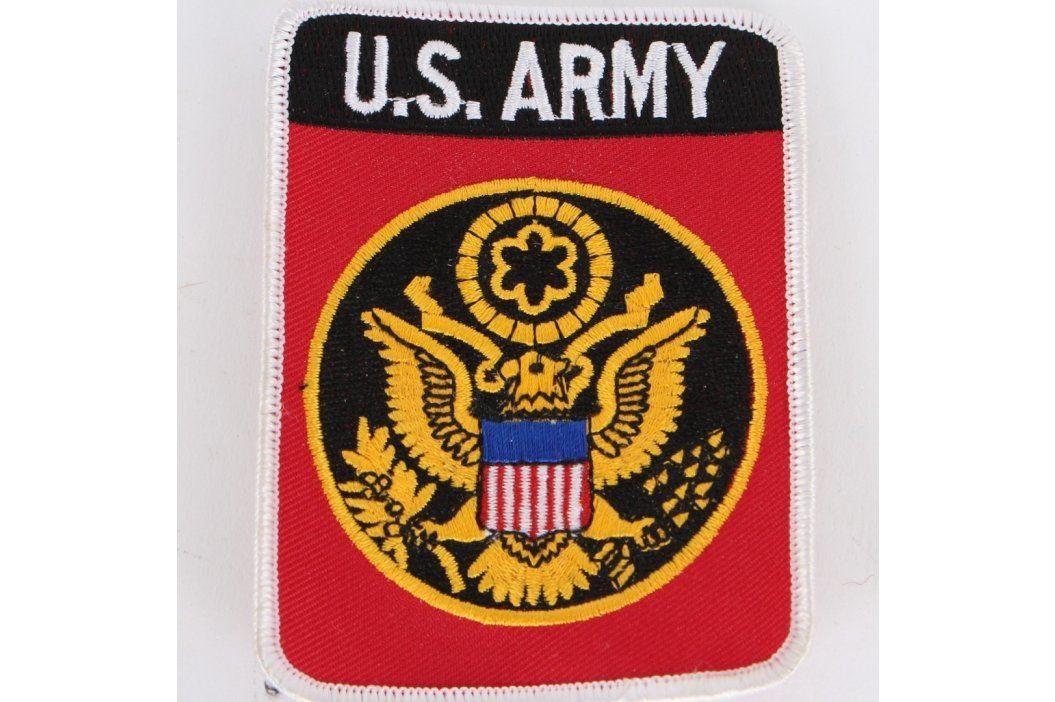 Nášivka na uniformu U.S. Army Vojenské předměty