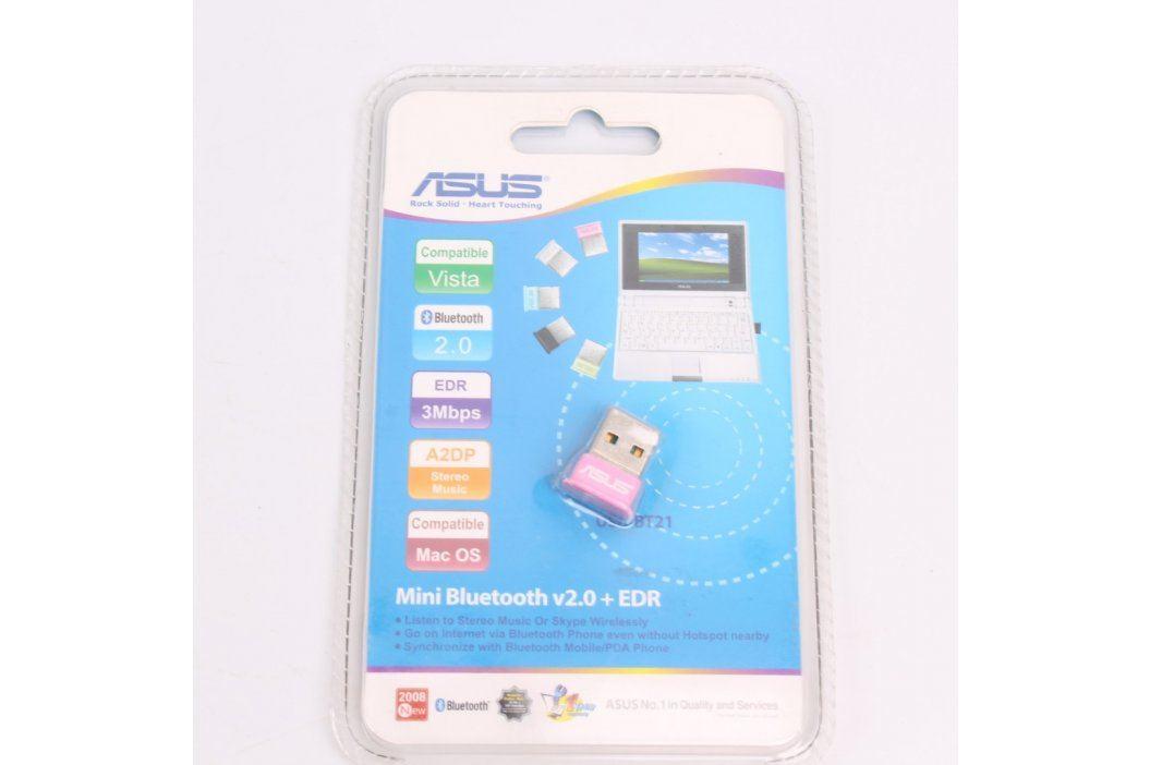 Bluetooth adaptér Asus USB-BT21 růžový Příslušenství do USB