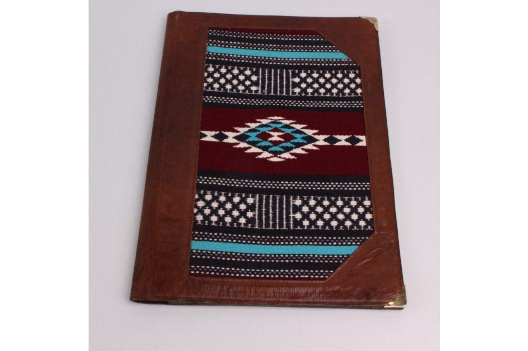 Desky na dokumenty A4 Etno s kapsou na zip Kabelky