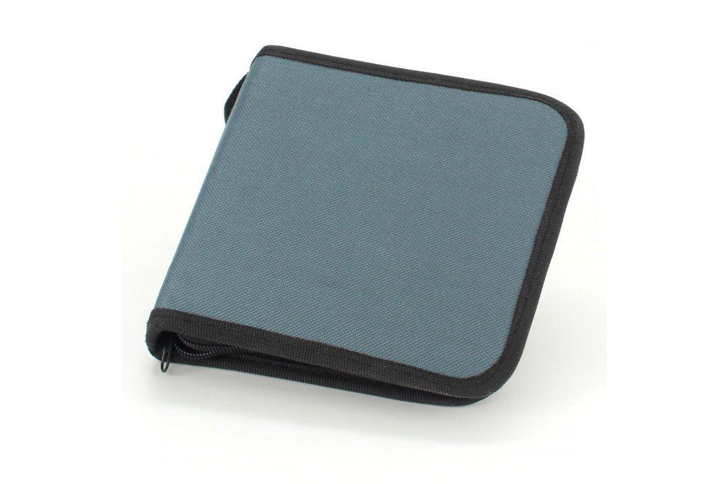 Box na CD/DVD na 24 ks šedé Pouzdra a obaly na CD