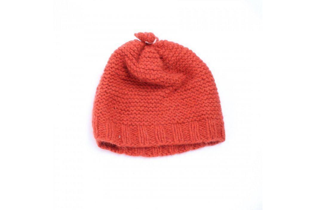 Dětská čepice odstín oranžové Dětské šály, čepice a rukavice