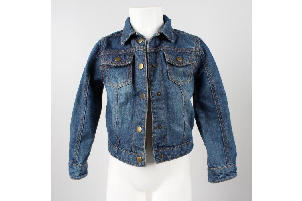 Džínová bunda F&F odstín modré Dětské bundy a kabáty